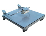 0.5T 1T 2T 碳钢带滚轮手推移动式kok电子|kok电子游戏官网小地磅
